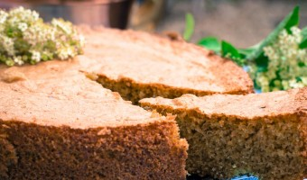 Dairy Free Elderflower Cake