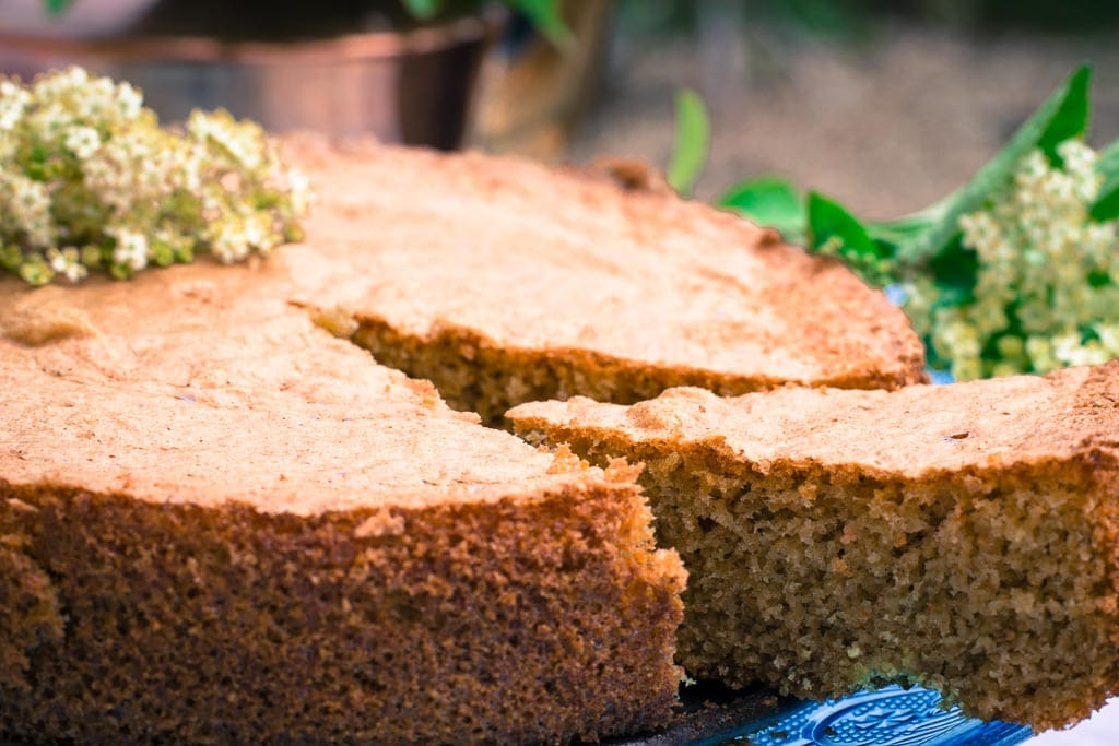 Dairy free elderflower cake recipe