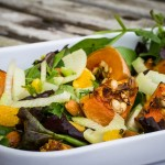 Butternut Squash, Oranges and Fennel Salad