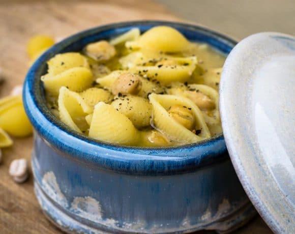 Pasta with chickpeas - Pasta e ceci