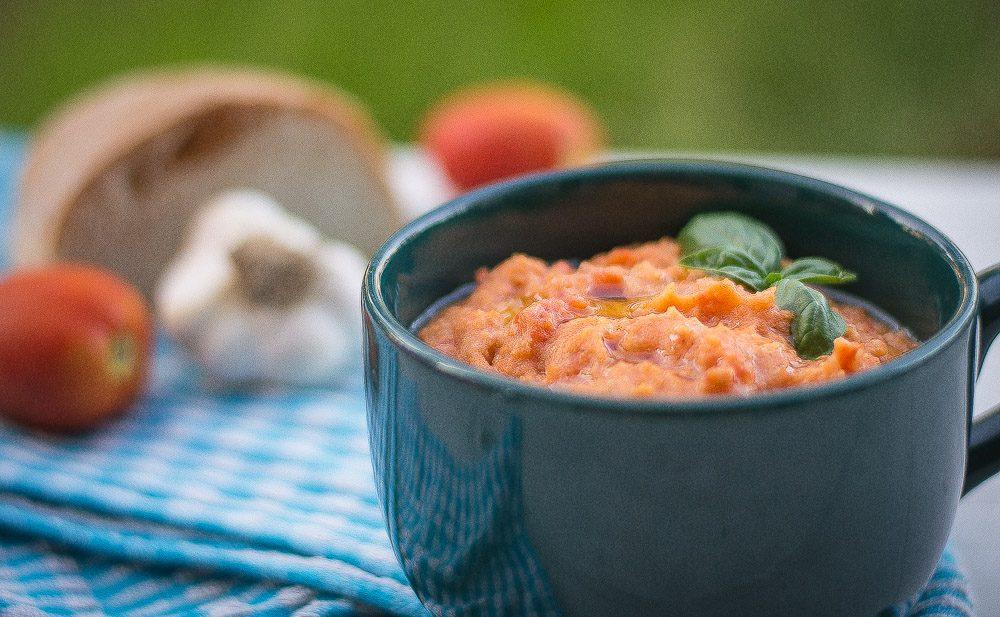 Pappa col pomodoro - Bread and tomato tuscan soup