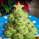 Broccoli and Mash Christmas Tree